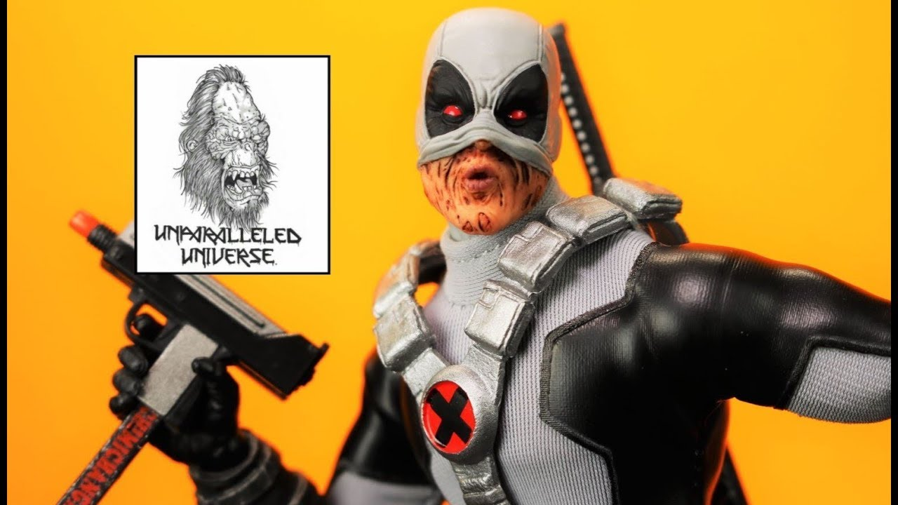 MEZCO ONE:12 Collective X-Force Wolverine Steel Tin PX Exclusive Action Figure