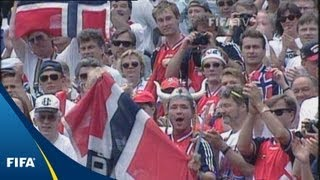 When Norway's golden generation beat Brazil