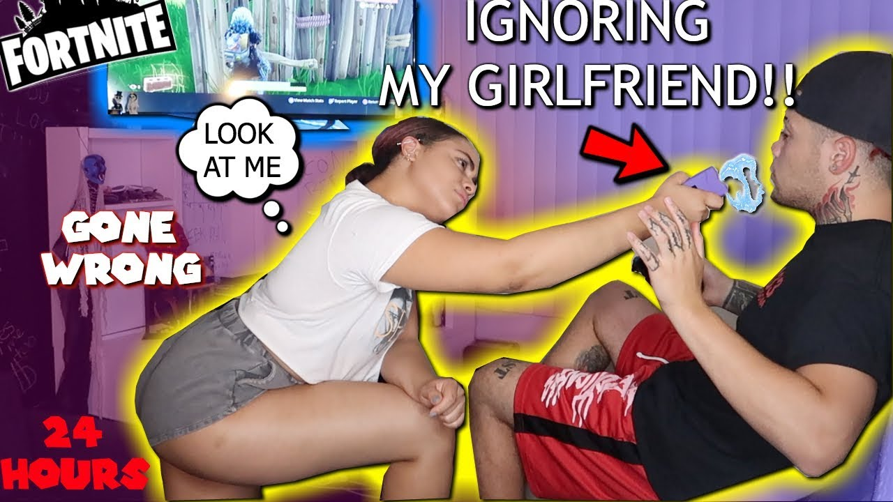 Ignoring My Latina Girlfriend For 24 Hours Prank She Pulls A Taser Out