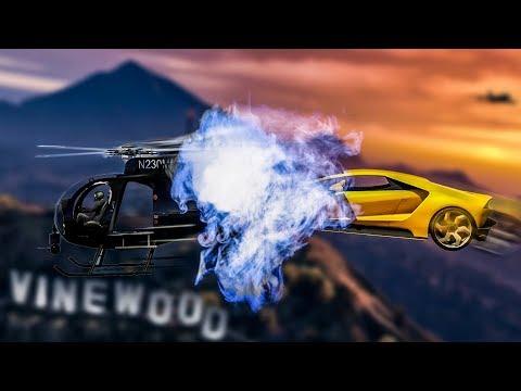 IZASLE SU NAJLUDJE TRKE IKADA ! Grand Theft Auto V - Najludje Trke w/Cale