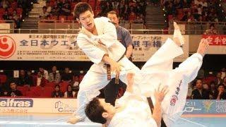 【新極真会】第28回全日本ウエイト制大会   重  量級決勝    島本雄二vs...