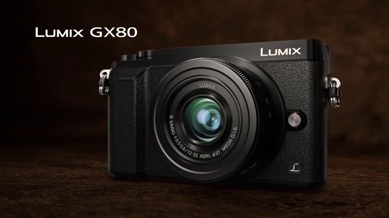 Panasonic lumix dmc gx80 dslm camera youtube for Housse lumix gx80