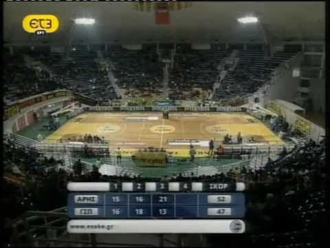 Aris Thessaloniki vs Peristeri BC (Greek Basket League # 13η αγωνιστική # 11/01/12)