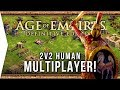 Age of Empires: Definitive Edition ► 2v2 Human Multiplayer Gameplay!