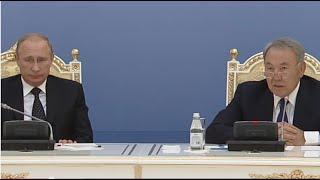 Назарбаев и Путин: что осталось за кадром в Атырау / 1612