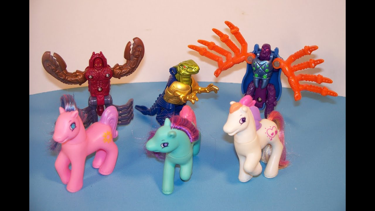 My Little Pony Toy Food : Transformers beast wars my little pony set of