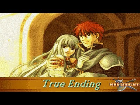 Fire Emblem: The Blazing Blade (Cutscenes) (Ninian Ending and Epilouge)