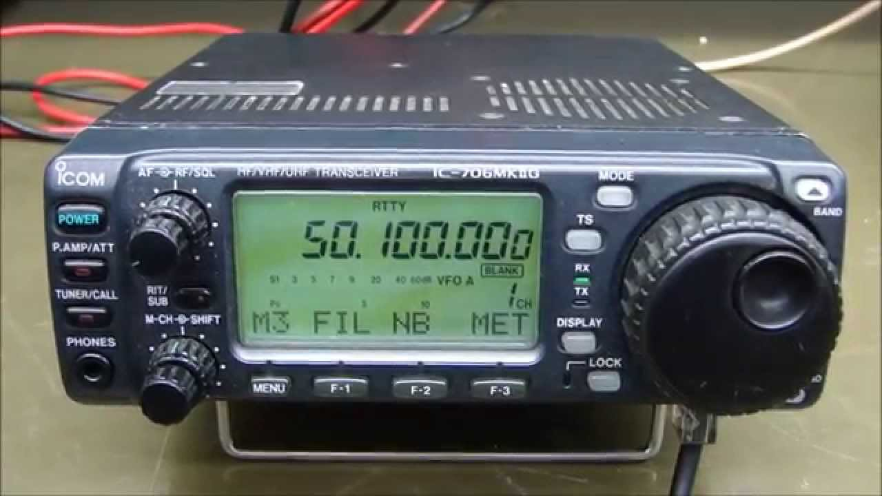 ALPHA TELECOM: ICOM IC-706MKIIG NÃO LIGA + REVISÃO e ALINHAMENTO