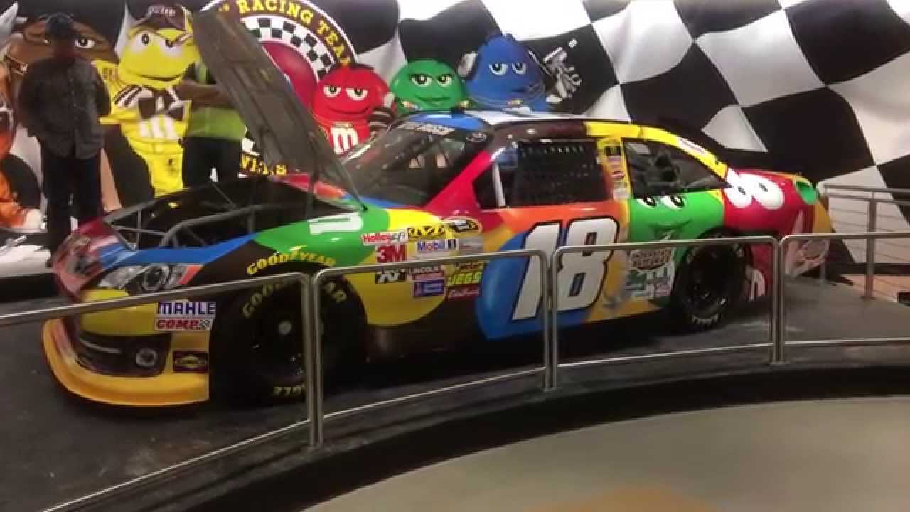 Kyle Busch S Nascar Showcar Installed At M Amp M S World Las