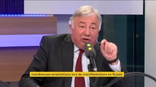 La défense timide de Larcher pour Fillon, Valls vers Macron : le 28.03 en vidéos