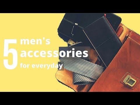 5-manly-accessories-all-men-should-own-for-everyday-carry-|-accessories-every-man-must-have