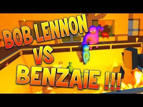 GANG BEAST  : BOB VS BENZAIE !!!