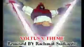 Voltus V No Uta Aka. Voltes V Theme (3manMix) -  Horie Mitsuko & Koorogi '73