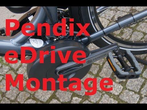 Pendix EDrive Montage Anleitung / Komplett Mit Schellenhalter