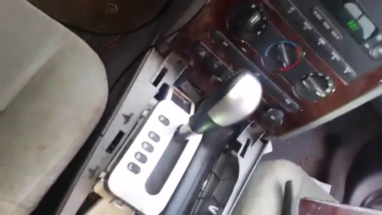 2006 ford freestyle transmission not shifting