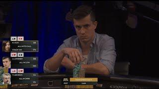 huge cooler kk v ak v aq poker 2016 aussie millions   pokerstars
