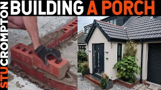 Gambar cover Bricklaying Building a Porch from Start To Finish