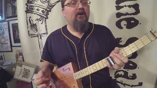 how to play hawaiian 3-string cigar box guitar (new g6 tuning) by shane speal