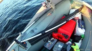 Ракета РЛ 330 і Hidea 9.9 (15) 2 т,замір швидкості. Рибалка.