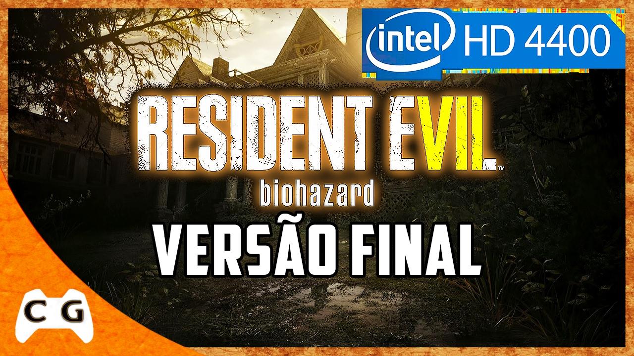 Resident Evil 7 Como Rodar Em PC Fraco Teste Intel HD Graphics #281