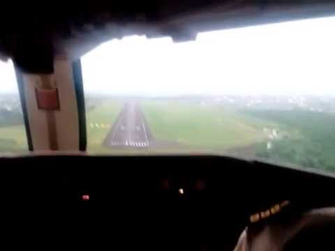 Landing in Douala International Airport
