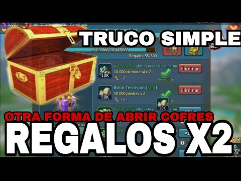 Truco X2 En Cofres - Otra Manera De Abrir Cofres -LORDS MOBILE ESPAÑOL-CONSEJOS