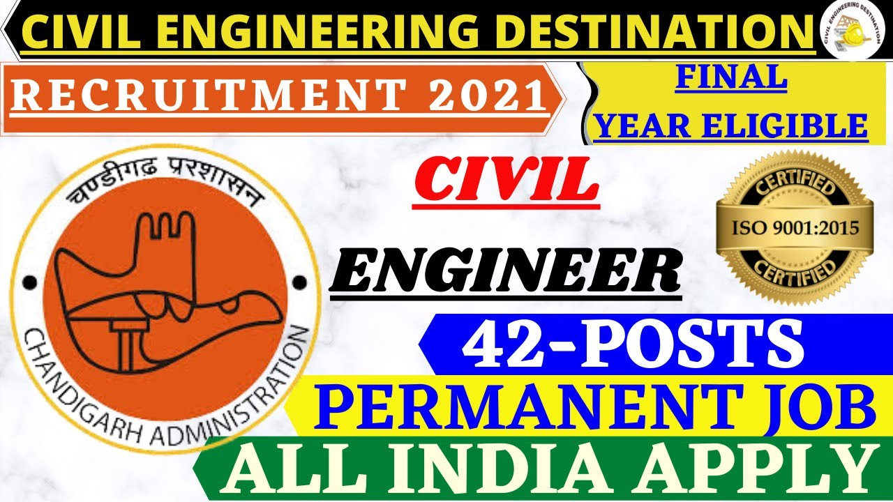 GOVERNMENT JOB #40, 000 SALARY #EDCA-JE 2021#FINAL YEAR ELIGIBLE #RECRUITMENT CIVIL ENGINEER 2021