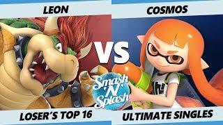 SNS5 SSBU - LeoN (Bowser) Vs. PG   Cosmos (Inkling, Corrin) Smash Ultimate Losers Top 16