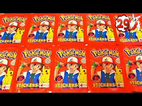 Ouverture de 10 Boosters Pokémon STICKERS MERLIN ! NOËL POKEMON #29