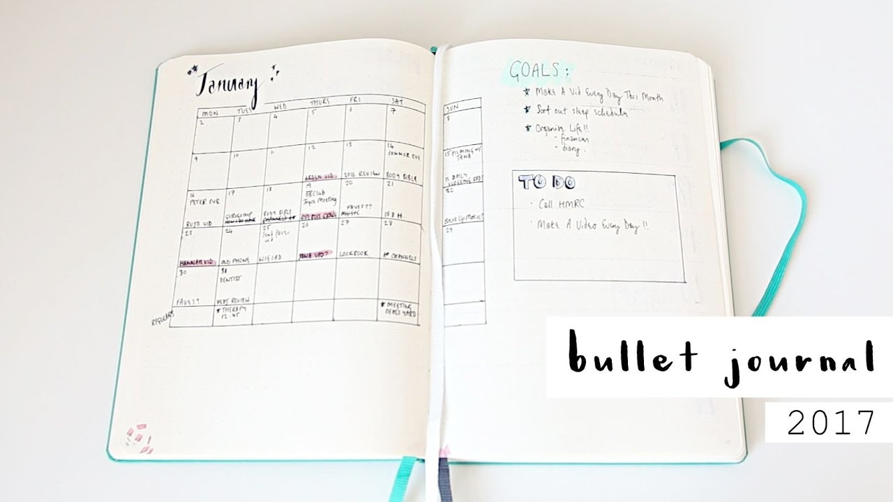 my 2017 bullet journal lucy moon youtube. Black Bedroom Furniture Sets. Home Design Ideas