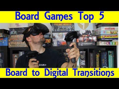 Top 5 Board To Digital Games