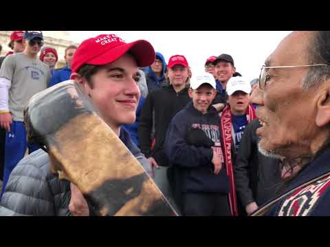 High School Students Harass Elder Vietnam Vet In DC