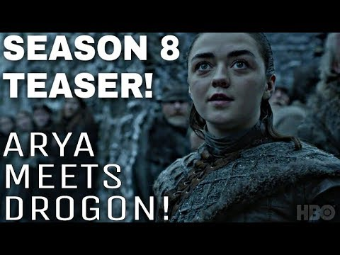 NEW Game of Thrones Season  Teaser! - Arya Stark meets Drogon!