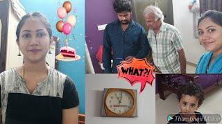 இந்த time la வீடியோ ah 😲😱 | Surprise Gift 🎁 | Father in law Birthday celebration🥳✨💝