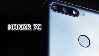 Обзор ультимативного смартфона до 11к - Honor 7C