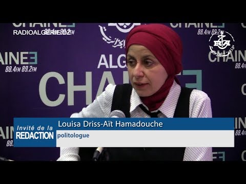 Louisa Driss Aït Hamadouche politologue