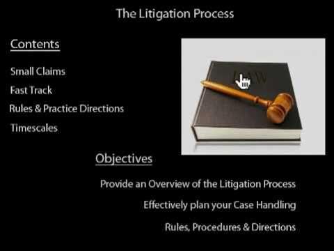 Litigation Process - Start To Finish.f4v