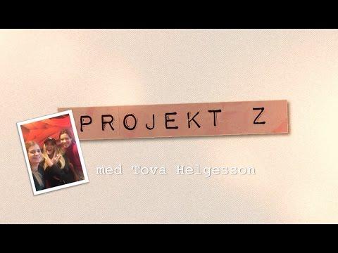 Tova Helgesson gästar Projekt Z på SVT