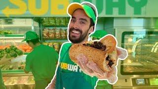 Un día trabajando en SUBWAY ¿Cuántos sándwiches vendí?