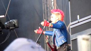 30 Seconds to Mars - This Is War - Download Festival, UK (12.06.2010)