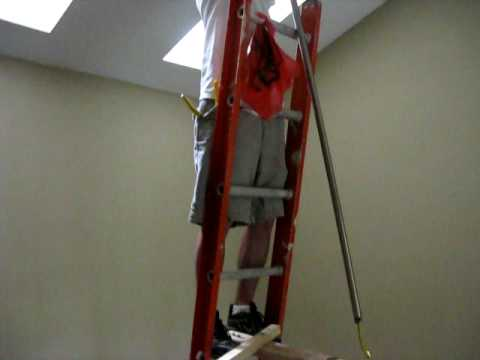installing a ceiling fan on a 20 foot ceiling   YouTube installing a ceiling fan on a 20 foot ceiling