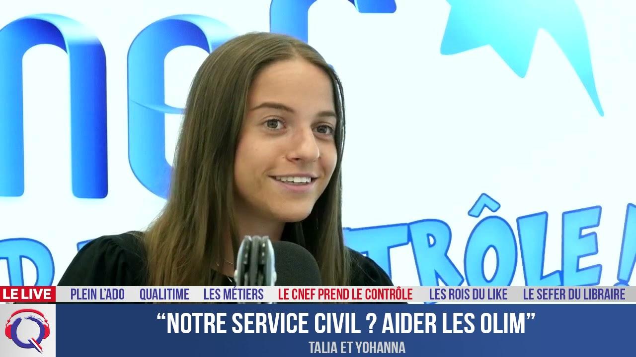 """""""Notre service civil ? Aider les olim"""" - CNEF#55"""