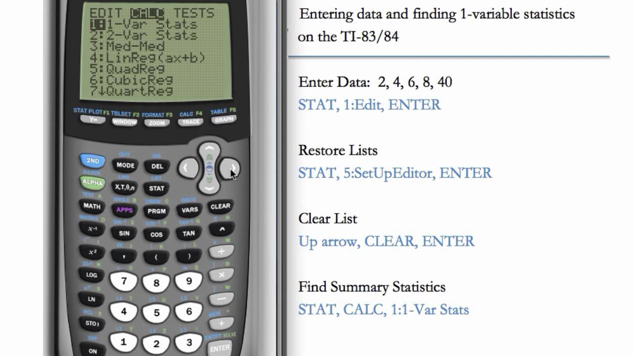 Graphing Calculator Online L1 L2 Help I Lost My L1 Or L2