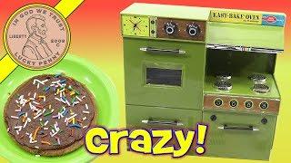 Easy Bake Crazy Cake! Baked In A 1969 Kenner Easy Bake Oven