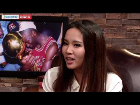 ESPN China Tencent Reporter Coral Lu interview Brian Windhorst's book of Lebron James