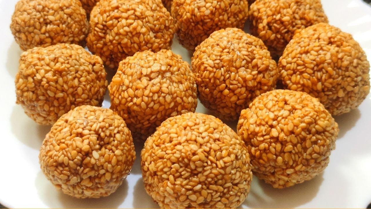 Nuvvula laddu/పాకం లేకుండా నువ్వుల లడ్డులు/Sesame seeds laddu/Nuvvula laddu recipe in telugu/laddu