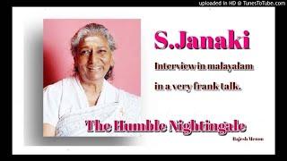 S.Janaki Talks Frankly