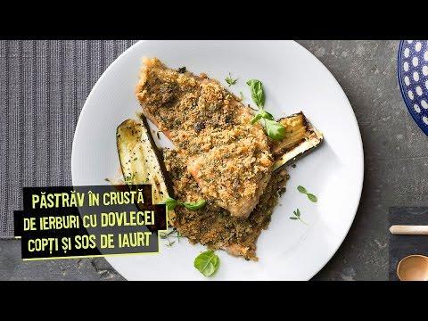 Pastrav in crusta de ierburi • Bucataria Lidl cu Chef Florin Dumitrescu