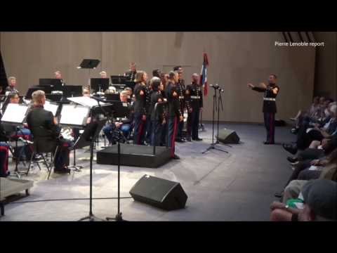 Vocals Flanders Field First Marine Division Band May 29 2017