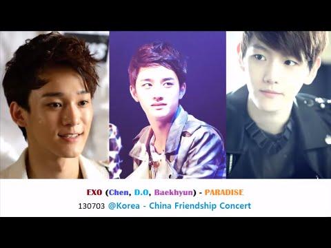 [AUDIO] EXO (D.O, Baekhyun, Chen) -- Paradise